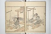 Sketchbook of One Hundred Women (Manga hyakujo) Poster Print by Aikawa Minwa (Japanese, active x History Of Manga, Art History, Vintage Wall Art, Vintage Walls, Maker Culture, Picture Albums, Japanese Prints, Historical Maps, Woodblock Print