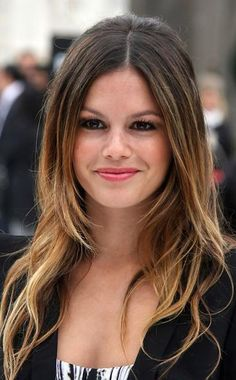 middle part hairstyles - Google Search