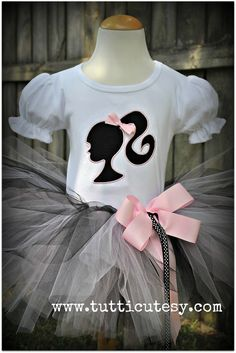 Barbie Birthday Tutu Outfit Vintage by tutticutesytutus on Etsy, $54.99