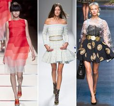 Spring/ Summer 2014 Fashion Trends: Pleats and Volantes  #fashion #fashiontrends