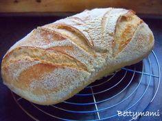Kovászos fehér kenyér éjszaka hűtőben kelesztve Heni receptje szerint – Betty hobbi konyhája