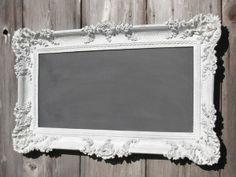 chalkboard menu for kitchen