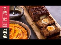 Glazed Meatloaf with mashed sweet potatoes Meatloaf Glaze, Ground Meat Recipes, Christmas Dishes, Mashed Sweet Potatoes, Greek Recipes, Sweet Desserts, Deserts, Yummy Food, Dinner