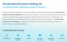 Blue Mail Media's rhode island mailing list can enhance your outreach in the region and present immense opportunities for revenue generation. You can send an enquiry at sales@bluemailmedia.com and Contact us now at 1-888-494-0588.You can also visit the site: https://www.bluemailmedia.com/united-states/rhode-island-mailing-list.php