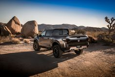 The Nissan Titan Warrior Concept Asks, 'Bro, Do You Even Truck?'
