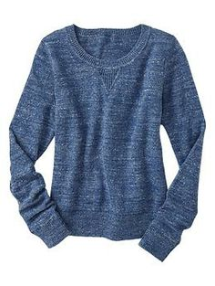 Heathered sweater | @Gap
