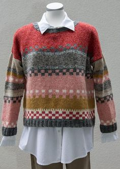 dk Webmail :: Vi tror, at du vil synes om disse pins Fair Isle Knitting Patterns, Sweater Knitting Patterns, Knitting Designs, Knit Patterns, Knitting For Kids, Hand Knitting, Knit Fashion, Pulls, Knitwear