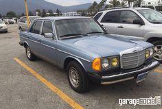 300D Turbo #Mercedes #TurboDiesel #300D #Garagesocial #BabyBlue #Benz #MercedesBenz #BenzCar #MercedesFan