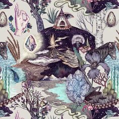 Naturalism by Karina Eibatova, via Behance