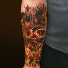 125 Best Skull Tattoos For Men: Cool Designs + Ideas Guide) - Skull Forearm Tattoo – Best Skull Tattoos For Men: Cool Skull Tattoo Designs and Ideas For Guys # - Cool Tattoos For Guys, Trendy Tattoos, New Tattoos, Tattoos For Women, White Tattoos, Forearm Tattoo Men, Foot Tattoos, Sleeve Tattoos, Verse Tattoos