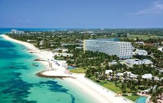 The Grand Lucayan, Grand Bahama Island  Hotel we got a day pass at to use their beach on our port day in Freeport!