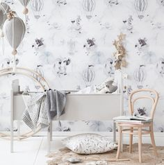Mrs Mighetto|Jimmy Cricket 'Oh Cloud' Wallpaper  www.playhausinteriors.com