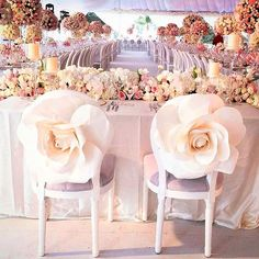 Love these seat covers to stand out even more at your wedding chair covers inspiration and groom chairs # wedding decor Wedding Chair Decorations, Wedding Chairs, Wedding Table, Wedding Reception, Wedding Venues, Cake Wedding, Wedding Attire, Wedding Centerpieces, Wedding Bride