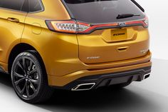 2015 Ford Edge Gets Better Looks and More Tech for its Journey Around the World [w/Video]