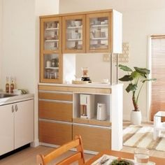 Home Modern Small Storage 24 Ideas For 2019 Apartment Furniture, Apartment Interior, Apartment Design, Apartment Ideas, Small Space Living, Small Spaces, Small Apartment Kitchen, Kitchen Small, Loft Kitchen