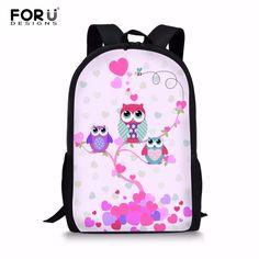 2eae92ba2eb FORUDESIGNS Kawaii 3D Owl Animal Children School Bag Kids Book Backpack  Girls Child Schoolbag Mochila Infantil Escolar Rucksack  Affiliate