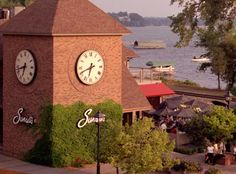 After a day out on Lake Minnetonka, tie your  boat up at Sunsets restaurant in Wayzata and enjoy a delicious feast as, you guessed it, you watch the sun set.