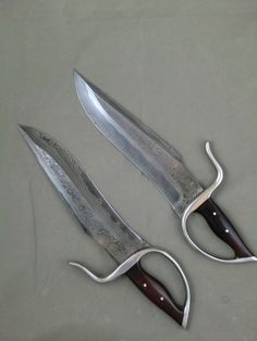 Orca San Mai Damascus Butterfly Swords (Modell Design LLC) with Hamon