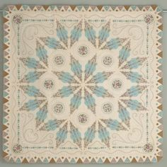 Radiance by Susan Stewart....WOW!! It is now a part of the permanent collection at the National Quilt Museum in Paducah, KY. since it won one of the bigger awards at the quilt show in Paducah.
