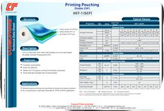 It is a co-extruded, both sides heat sealable and one side treated Bi-axially Oriented Polypropylene film.