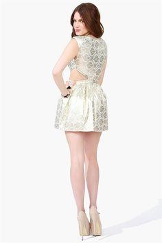 Wall Flower Dress / Top - Gold