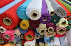 Good news for sustainable textiles of the future was announced in a recent Applied and Environmental Microbiology report that described the discovery. Framed Fabric, Framed Art Prints, Buy Fabric, Custom Fabric, Fabric Shears, Sustainable Textiles, Sewing Room Organization, How To Make Clothes, Sewing Tools