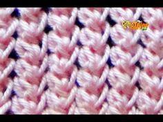 Punto molinete o mariposa tejido a crochet para colchas de bebé - Tejiendo Perú - YouTube