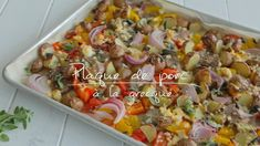 Quebec, Easy Weeknight Meals, Easy Meals, Healthy Eating Tips, Healthy Recipes, One Pot Dishes, Easy Cooking, Pork Recipes, Recipies