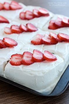 Tres Leches Cake on ohsweetbasil.com by @Amber {Dessert Now, Dinner Later!} !