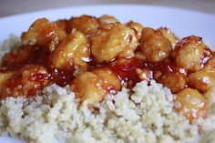 Firecracker Chicken (by: Mmm.Cafe: -- Big Selection of 30 Minute Meals). Asian Recipes, New Recipes, Cooking Recipes, Favorite Recipes, Dinner Recipes, Yummy Recipes, Healthy Recipes, Asian Foods, Chinese Recipes