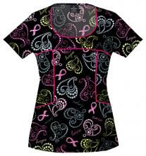 Baby Phat scrub top - i have this with the v-cut and love it