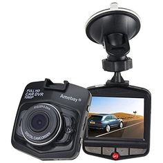 Full HD 1080P digital car driving camera with 2.4 inch LCD display 140 degree A + grade high – resolution wide Angle lens Support TF memory card, up to 32GB (Free 16 GB TF Card)