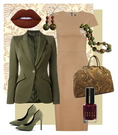 """""""Classic Woman"""" by clschmauder ❤ liked on Polyvore featuring Andrea Marques, Alexander McQueen, Kendall + Kylie, Lime Crime and Bobbi Brown Cosmetics"""