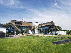 landelijk modern huis