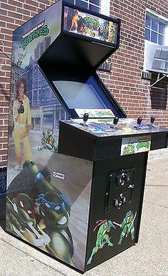 Konami Teenage Mutant Ninja Turtles Arcade Game ( TMNT Arcade ) -Extra Sharp