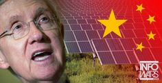 Traitor! Corrupt Democratic Sen. Harry Reid (D-Nev.) working with the Chinese gov't to take land from hard-working Americans.