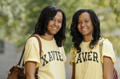 The Riley twins, Megan, special education major & Melissa, early childhood education major were co-valedictorians of their Xavier HS prep graduating class where they were active in softball and the National Honor Society; before entering Xavier University of Louisiana. (2011).