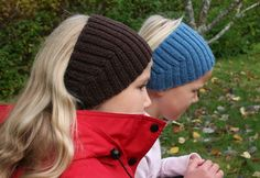 Ear Warmers, Knitted Hats, Beanie, Knitting, Diy, Fashion, Knit Hats, Moda, Tricot