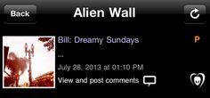 Bill: 'Domingos sonhadores...