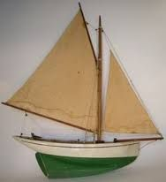 Gaff-rigged sloop