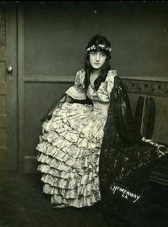 """Miriam Cooper in """"Birth of a Nation"""", 1915"""