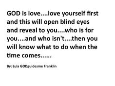 GOD is Love...