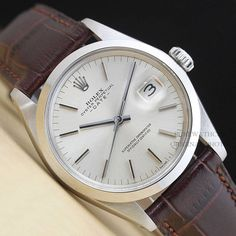 Vintage Mens Rolex 1500 Oyster Perpetual Watch