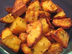Crispy (Baked!) Homefries - these came out perfectly after about 40 minutes. Oh the future seasoning options!