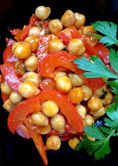 Csicseriborsós shakshuka Vegetables, Cooking Ideas, Food, Red Peppers, Essen, Vegetable Recipes, Meals, Yemek, Veggies