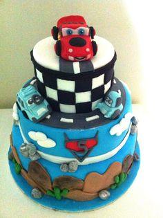 Birthday Cars  cake