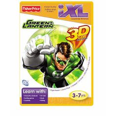 Fisher-Price iXL Learning System Green Lantern with 3D Game NEW!!! #FisherPrice