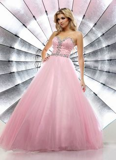 Excelentes vestidos de 15 a�os estilo princesa | Tendencias
