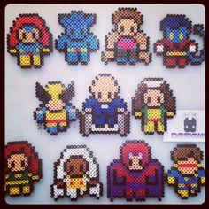 X-Men Marvel hama beads by diego_wop