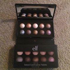 Elf palette Shimmery shadows palette Elf Makeup Eyeshadow